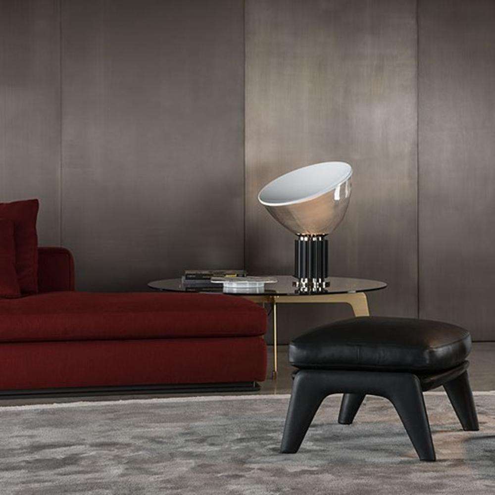 Taccia Small Black Led Table Lamp Desadd