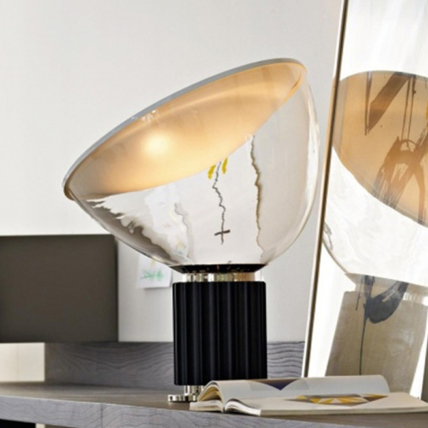 Flos Taccia Table Lamp Black 2